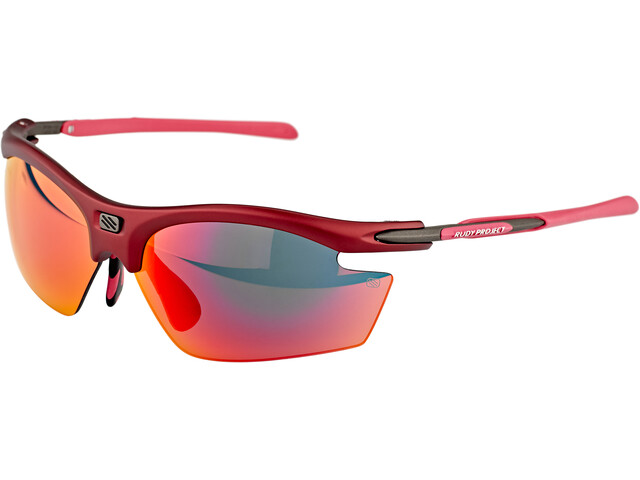 Rudy Project Rydon Slim Okulary rowerowe, merlot matte/multilaser red